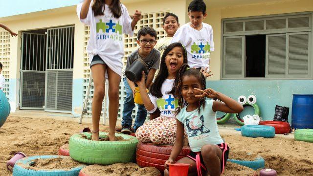 Pé na estrada, mãos dadas e suor no rosto: transformando histórias no Dia do Voluntariado