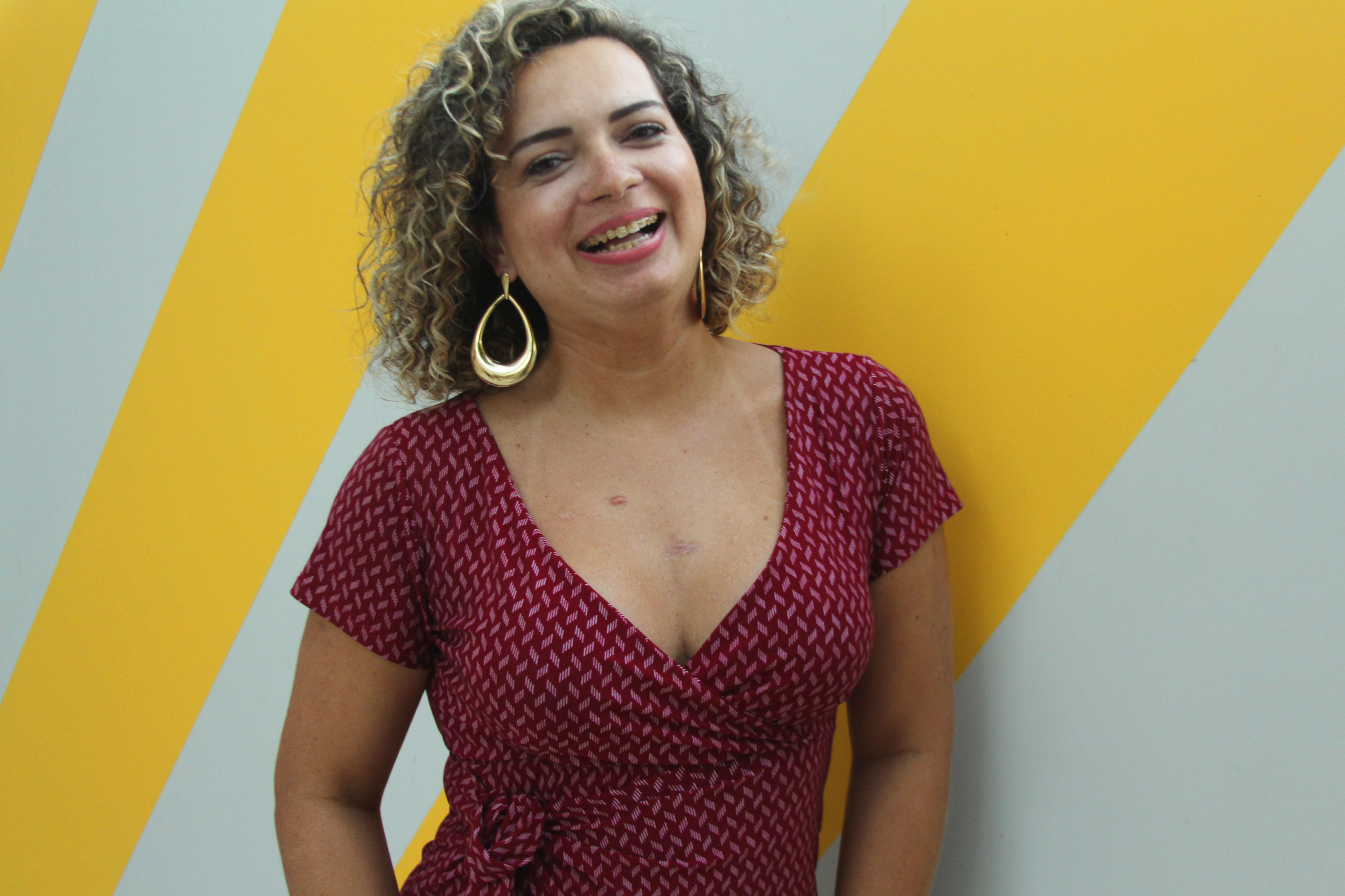 Viviana Corrêa nos dias de hoje.
