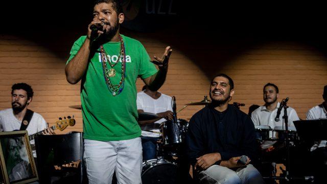Tunico da Vila e Criolo celebram sons de preto, origens da música brasileira
