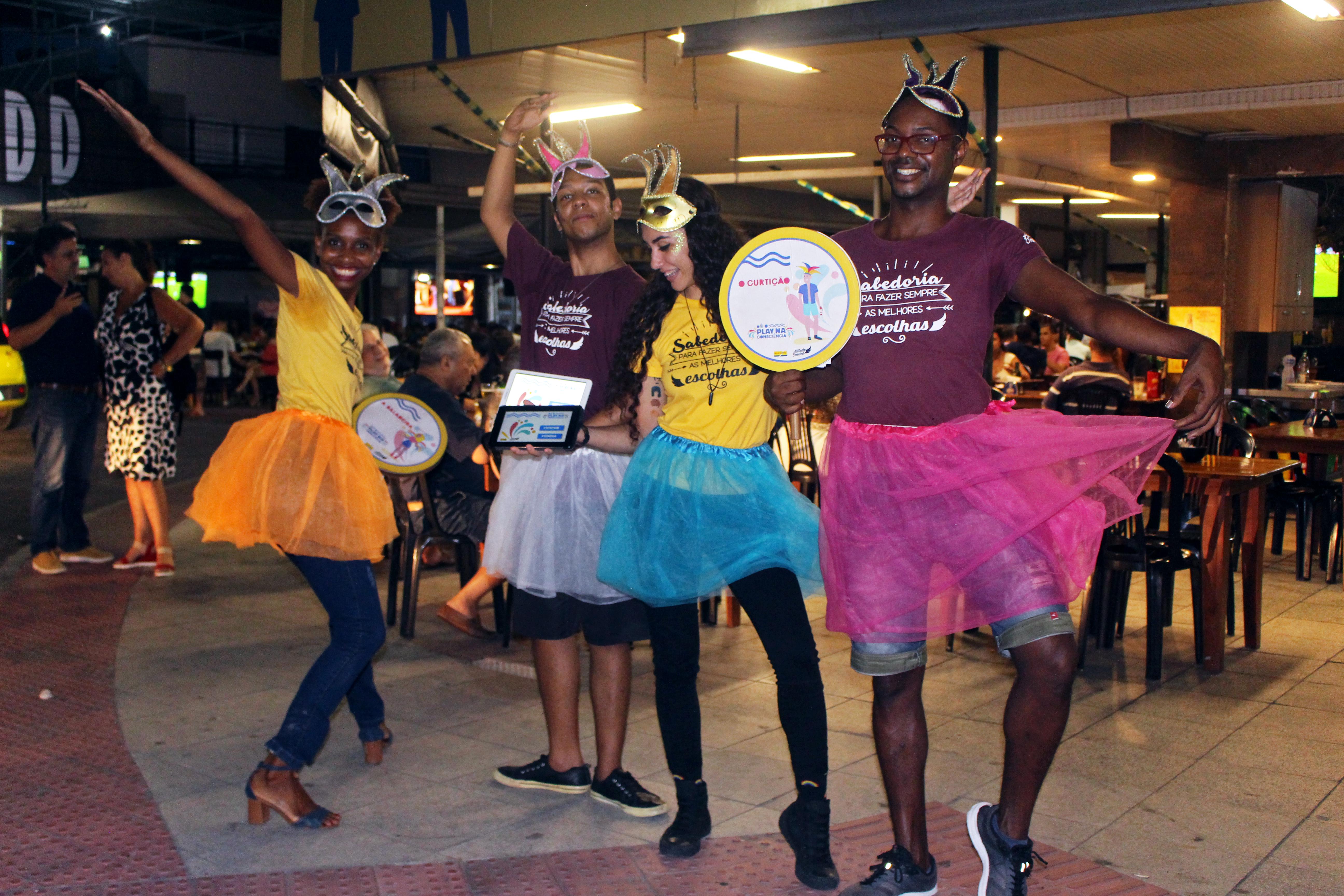Dê o Play na Consciência – Ações de Carnaval